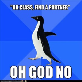 Socially Awkward Penguin: We Have a Situation
