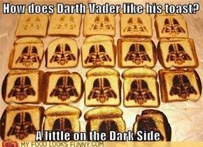 Darth Vader Toast