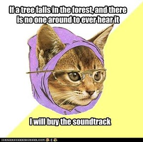 Hipster Kitty's Favorite Song