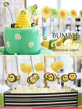 Epicute: Bumblebee Birthday