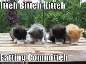 Itteh Bitteh Kitteh  Eatting Committeh