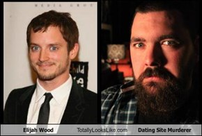 Elijah Wood Totally Looks Like Dating Site Murderer