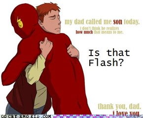 Flash Has a Kid?