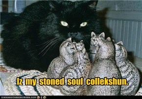Iz  my  stoned  soul  collekshun.