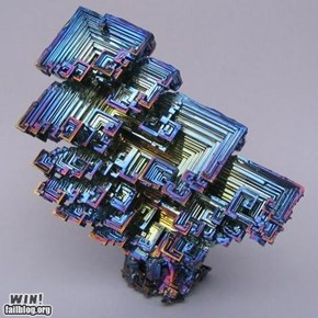 Bismuth Crystal WIN