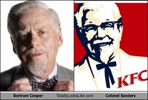 Bertram Cooper Totally Looks Like Colonel Sanders