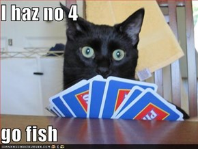I haz no 4  go fish