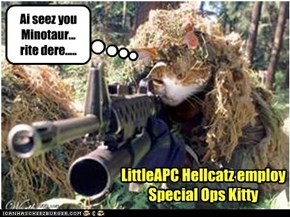 LittleAPC Hellcatz employ  Special Ops Kitty