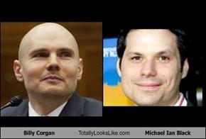 Billy Corgan Totally Looks Like Michael Ian Black