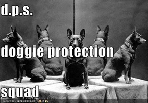 d.p.s. doggie protection squad
