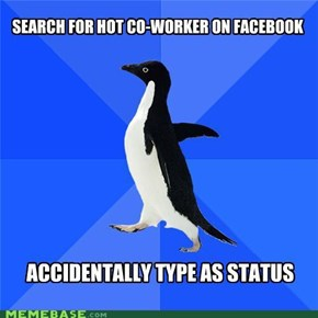 Socially Awkward Penguin: Dislike