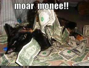 moar  monee!!