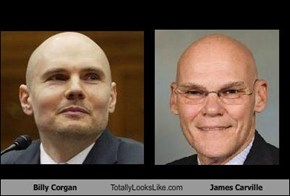 Billy Corgan Totally Looks Like James Carville