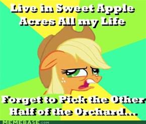 Half an Orchard