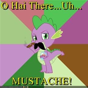 O Hai There...Uh...  MUSTACHE!