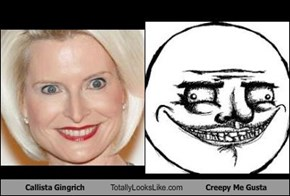 Callista Gingrich Totally Looks Like Creepy Me Gusta