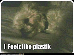 I  Feelz like plastik