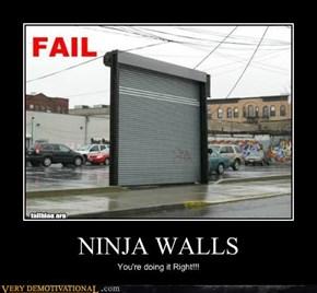 NINJA WALLS