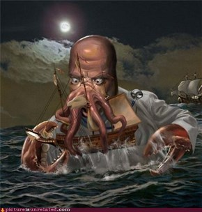 Classic: Release the Zoidberg!