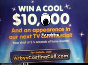 Hey Arby's having a casting call (for editors)