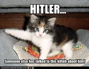 HITLER...