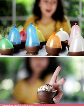Epicute: DIY Chocolate Bowls