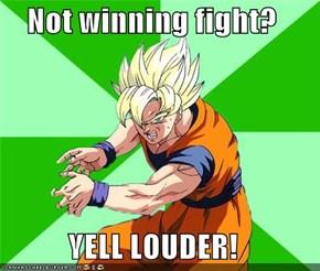 Goku Is Just Saiyan