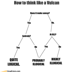 How to think like a Vulcan