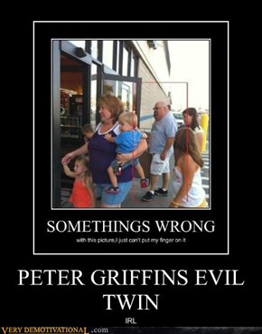 PETER GRIFFINS EVIL TWIN
