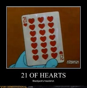 21 OF HEARTS