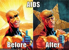 AIDS       Before              After