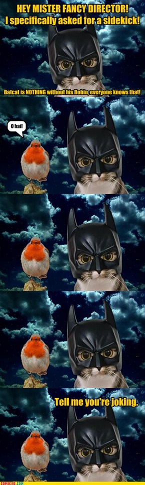 Batcat & Robin - Breaking News From The Set!