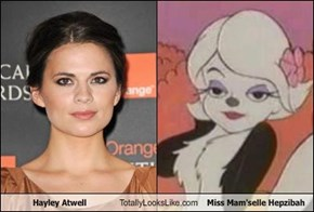 Hayley Atwell Totally Looks Like Miss Mam'selle Hepzibah