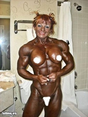 Body Builder Fail