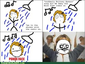 Shower celebrity