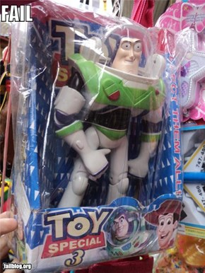 Toy Story FAIL