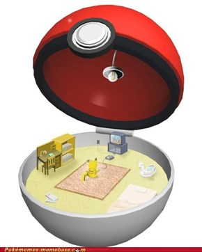 The Only Way Pikachu Will Go in the Pokéball