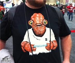 It's a trap! T-Shirt WIN