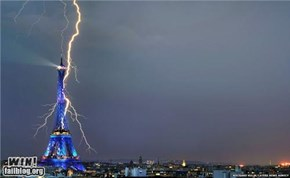Mother Nature FTW: Take that, Tower!
