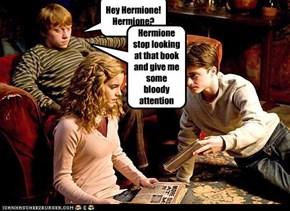 Hey Hermione!Hermione?