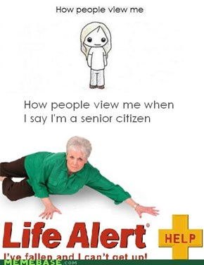 how we view the elderly