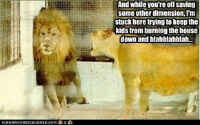 This is why Aslan drinks...