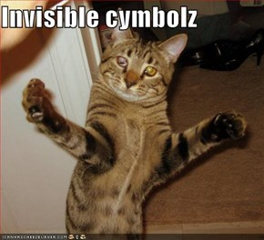 Invisible cymbolz