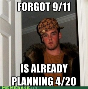 Scumbag Steve only remembers the important days....