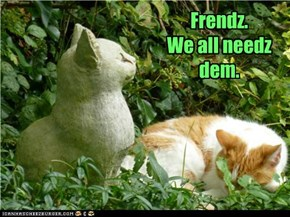 Frendz.  We all needz dem.