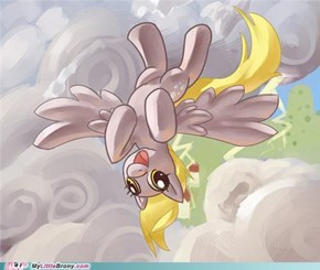 Flying: There's the Right Way, the Wrong Way, & the Derpy Way.