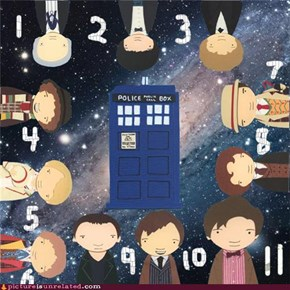 11 Doctors + 1 TARDIS = Awesome!