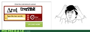 Seriously, Captcha?