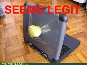 Dude, You Got an Apple!