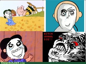 Charlie Brown RAGE!